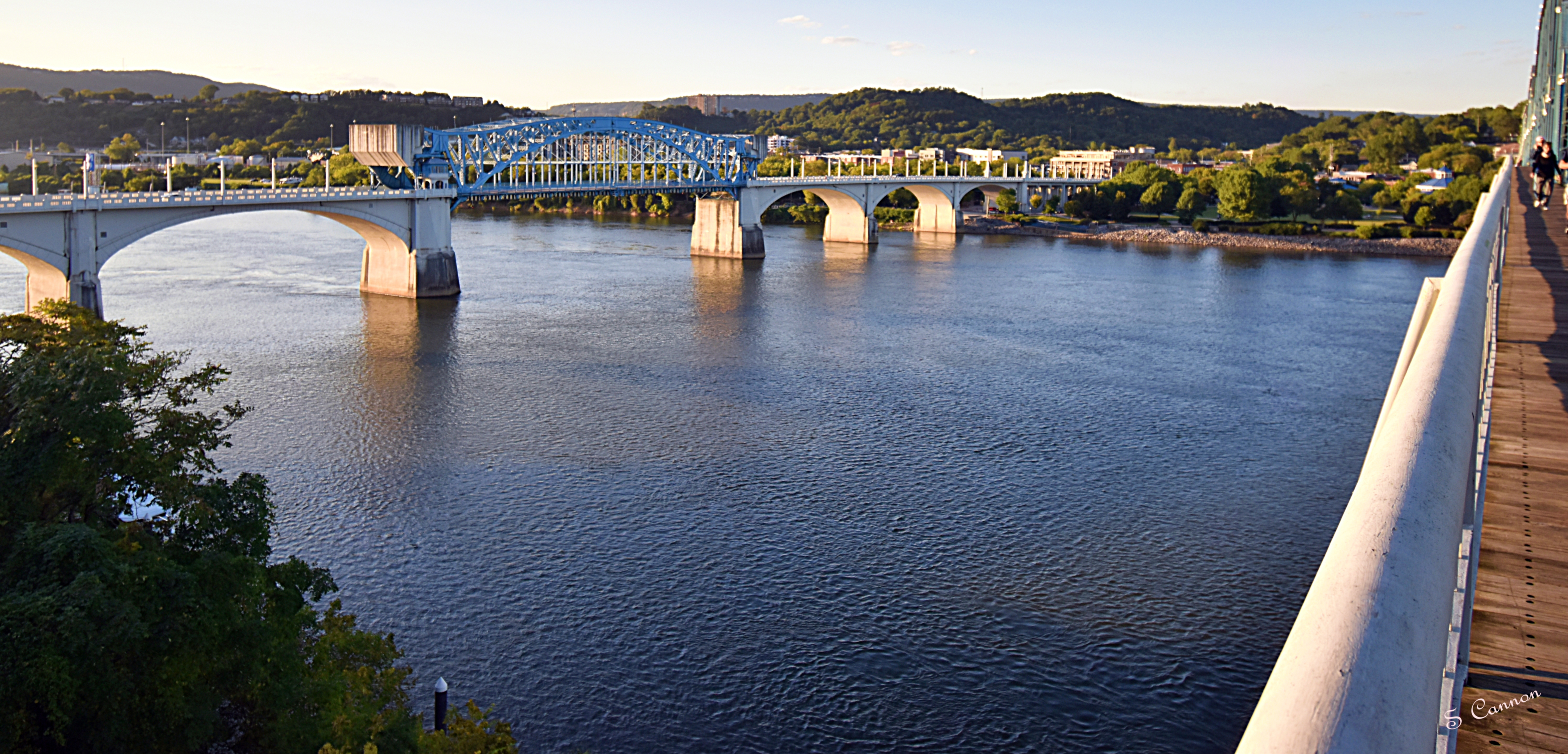 Downtown Chattanooga, Photo By Shelia Cannon